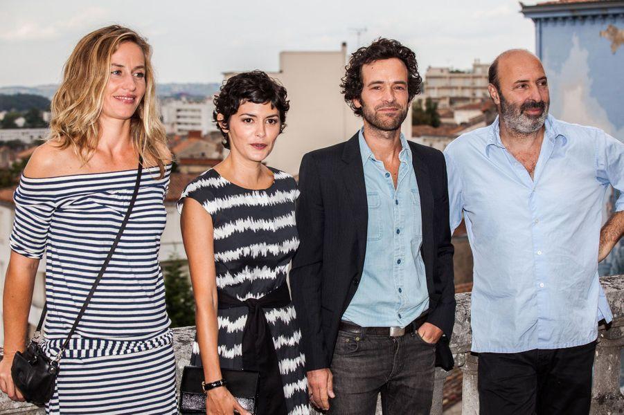 Cédric Klapisch, Audrey Tautou, Cécile de France et Romain Duris