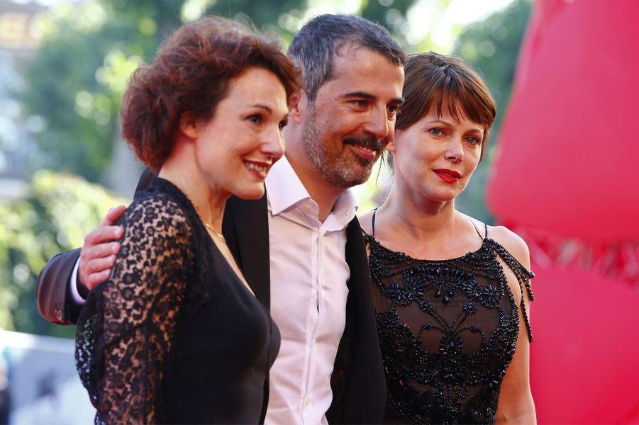 Francesco Munzi avec Barbora Bobulova et Anna Ferruzzo
