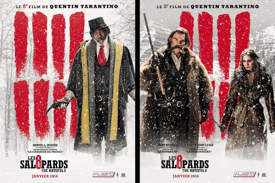 """Les affiches des """"Huit salopards"""""""