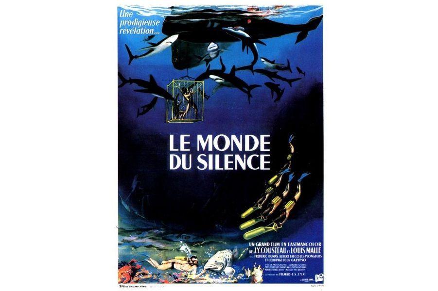 """""""Le Monde du Silence"""" de Jacques-Yves Cousteau et Louis Malle (1956)"""