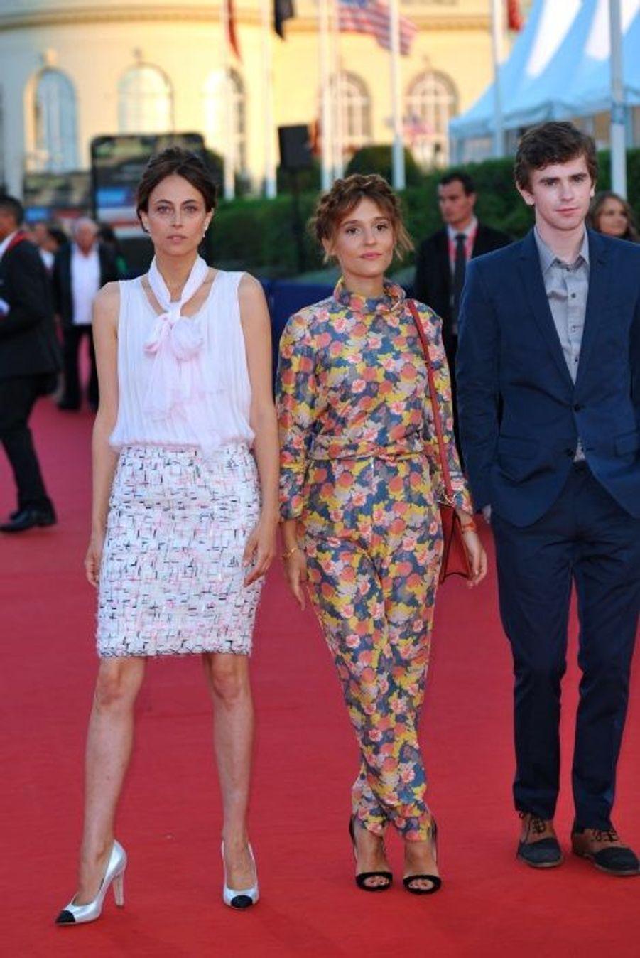 Anne Berest, Lola Bessis et Freddie Highmore