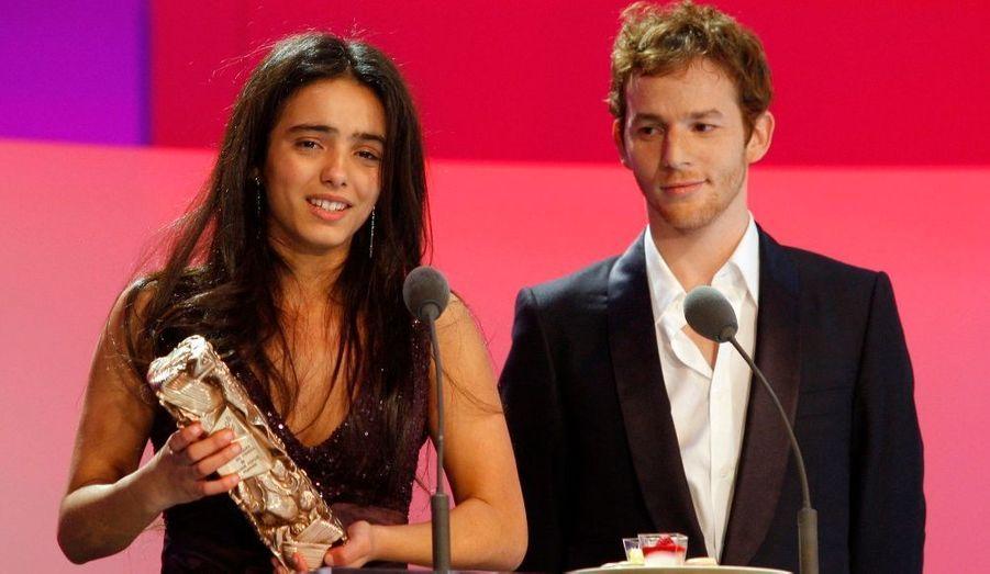 Hafsia Herzi a reçu l'an dernier le césar du meilleur espoir féminin pour le film «La Graine et le mulet».