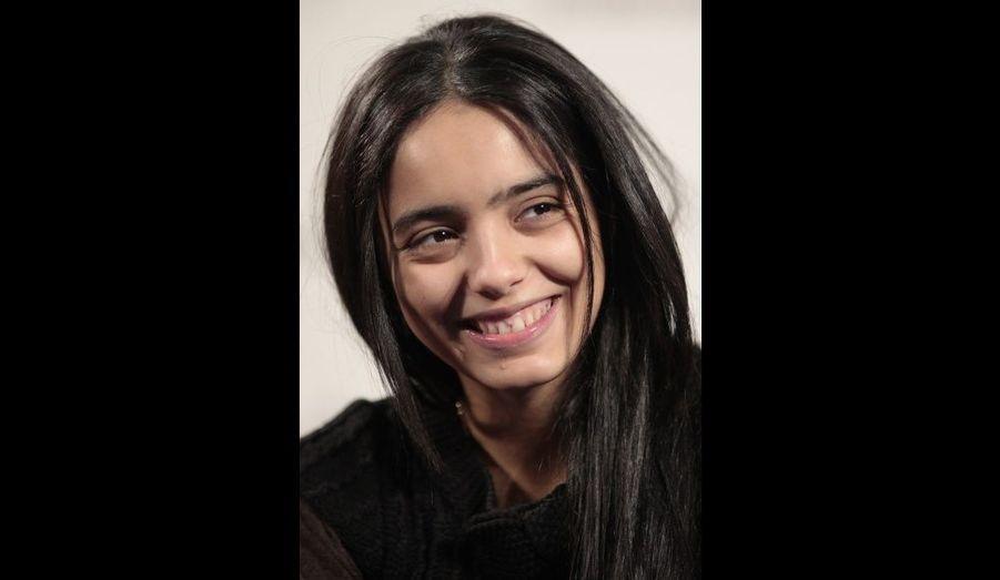 L'actrice Hafsia Herzi, une beauté naturelle.