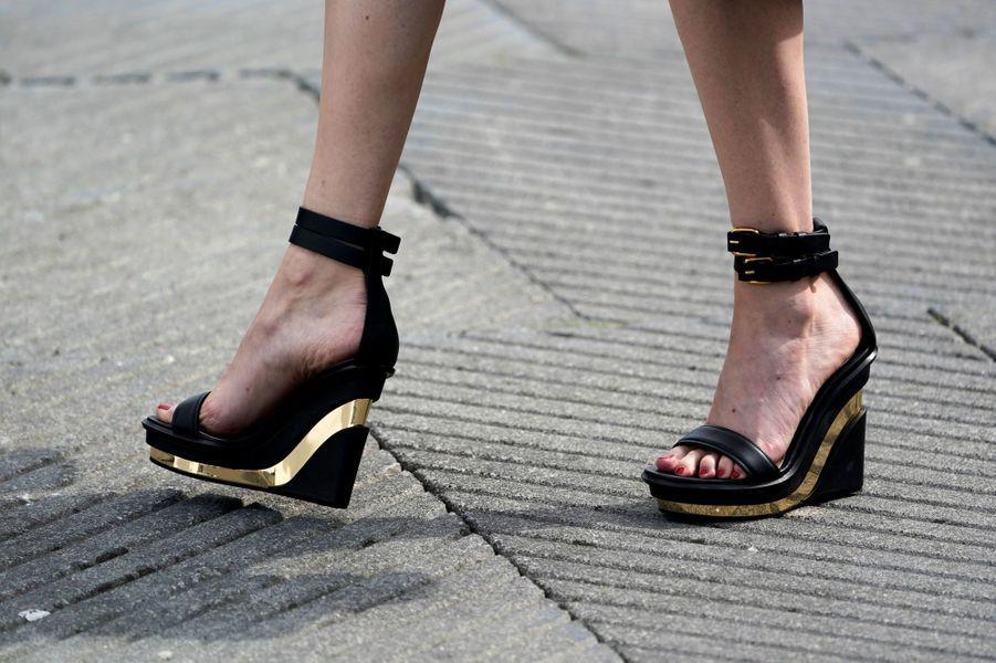 Les escarpins d'Eva Green à Saint-Sébastien pour «Proxima».