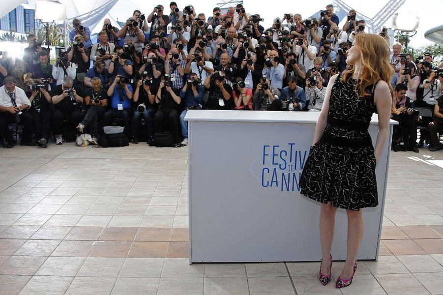 Jessica Chastain au Festival de Cannes en 2014.
