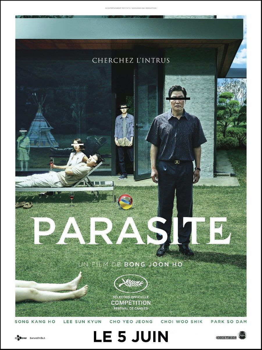 «Parasite» de Bong Joon-ho (Corée du Sud)
