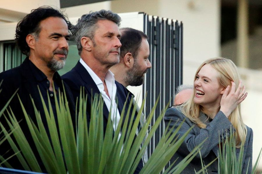 Une partie du jury du 72e Festival de Cannes.