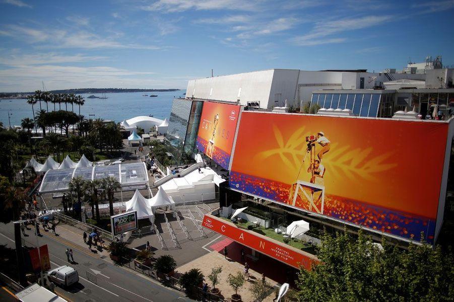 Le Palais des Festivals du 72e Festival de Cannes.