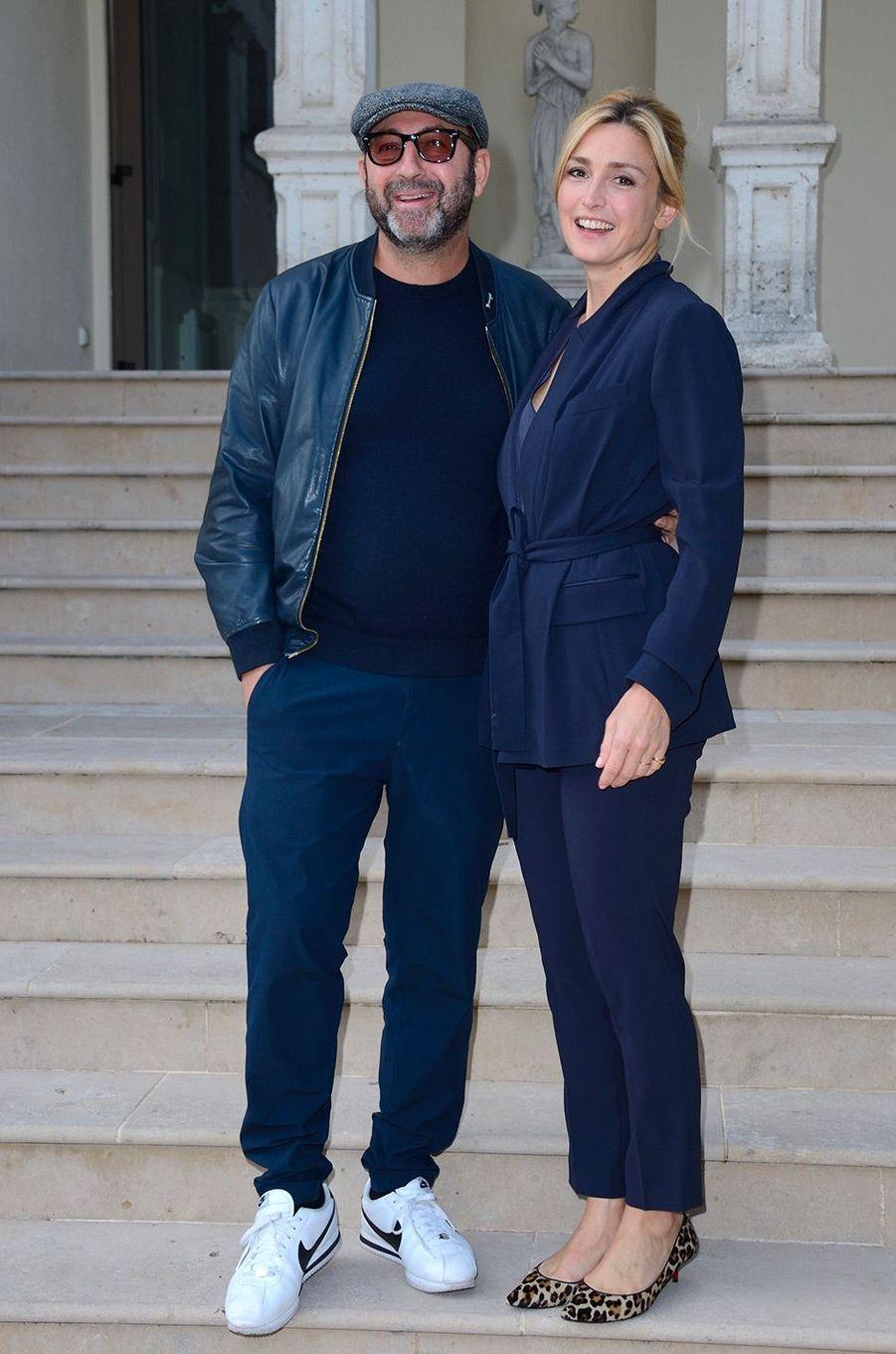 Julie Gayet et Kad Merad au Festival du film de Sarlat, jeudi 15 novembre