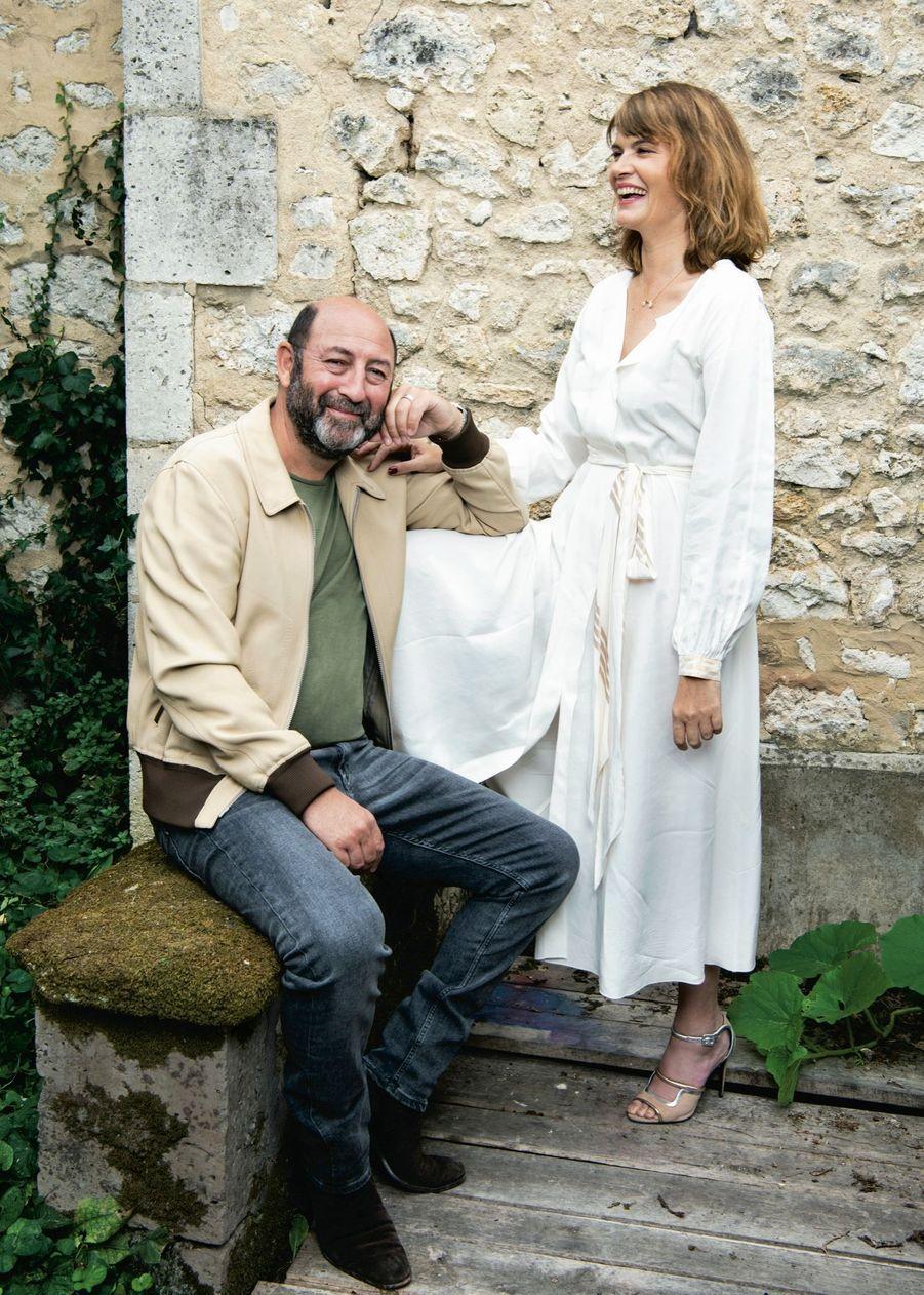 Kad Merad et Marina Hands, duo gagnant d'« Un triomphe », d'Emmanuel Courcol, annoncé pour le 6 janvier 2021.