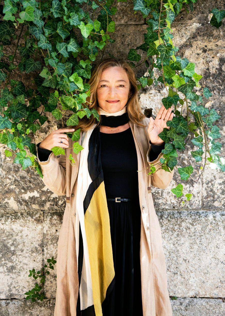 Catherine Frot joue « La fine fleur », la comédie de Pierre Pinaud. Elle défend aussi le drame de Lucas Belvaux « Des hommes », en salles le 11 novembre.