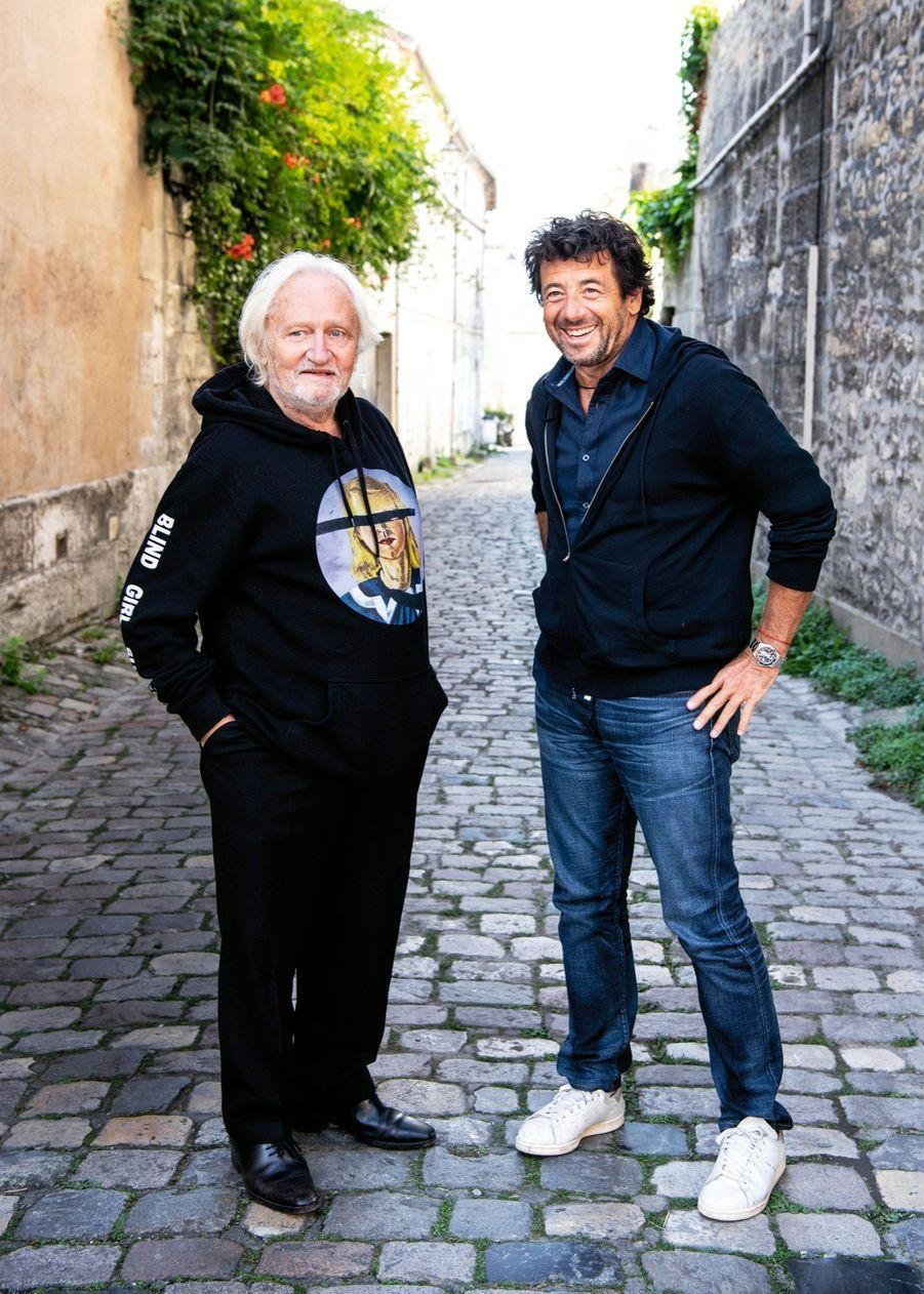 Niels Arestrup et Patrick Bruel pour « Villa Caprice », de Bernard Stora : ils campent un ténor du barreau et un puissant patron qui transforment leur duo en duel.