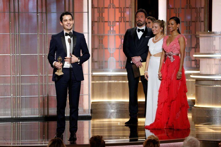 Damien Chazelle, prix du meilleur scénario et du meilleur réalisateur