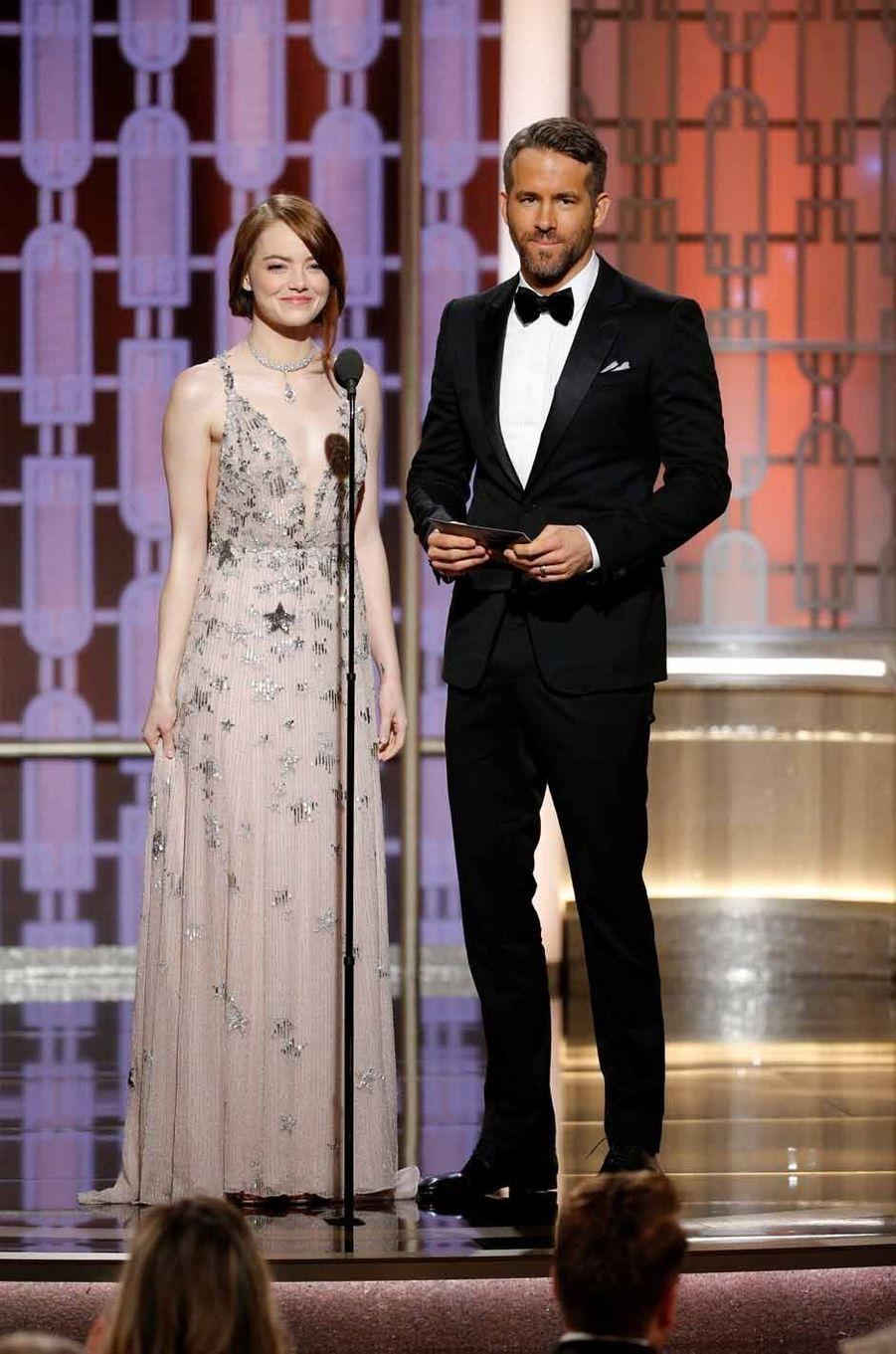 Emma Stone et Ryan Reynolds