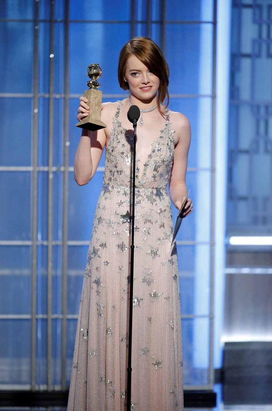 Emma Stone, meilleure actrice dans une comédie musicale