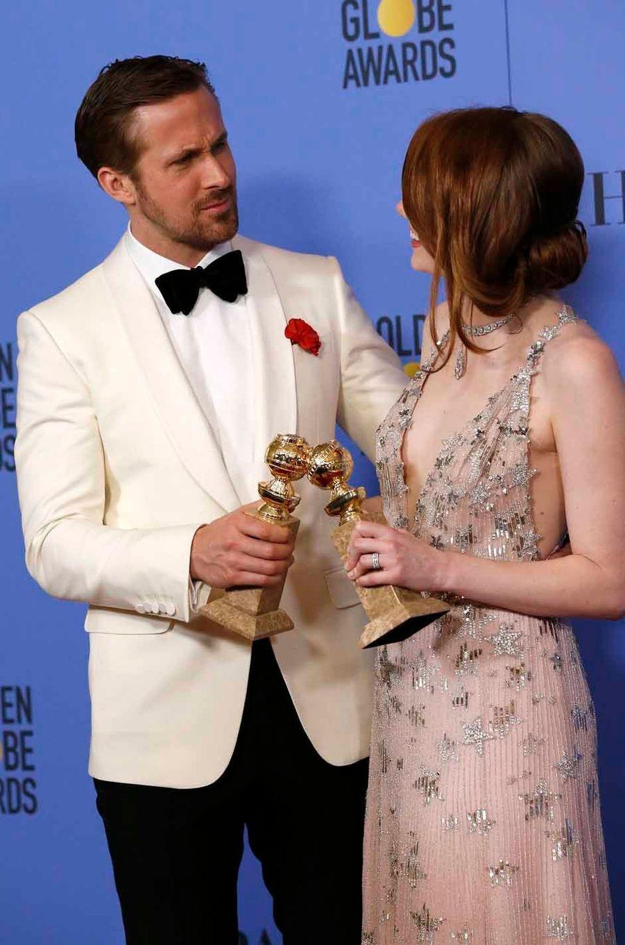 Ryan Gosling et Emma Stone, le couple de «La La Land».