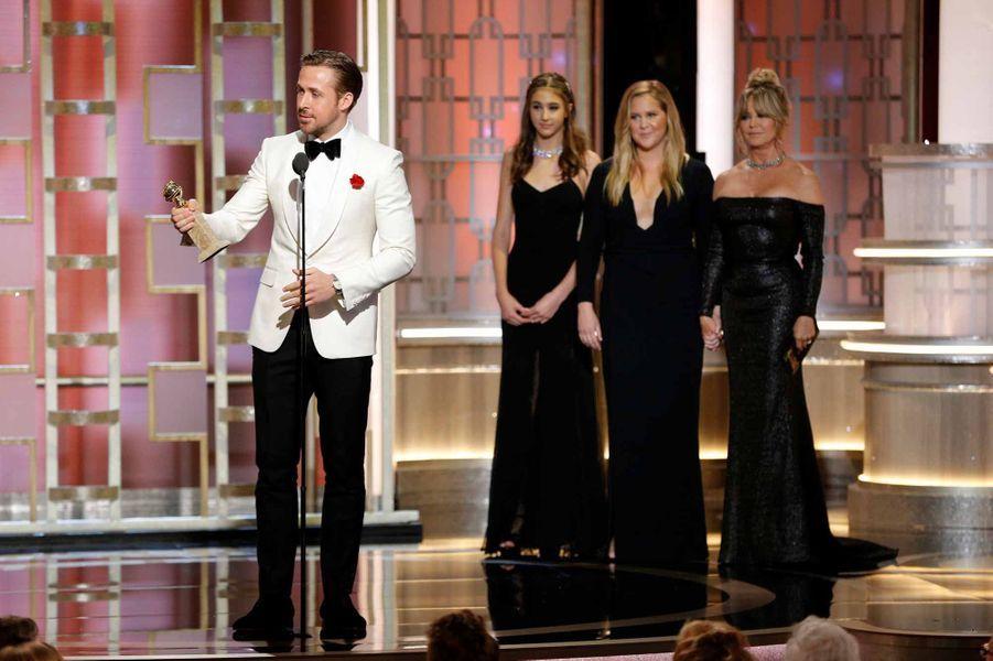 Ryan Gosling, prix du meilleur acteur dans une comédie musicale