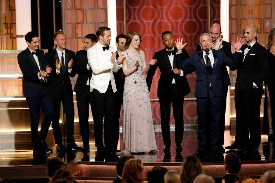 """L'équipe de """"La La Land"""""""