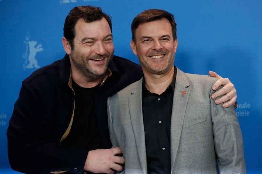 Denis Menochet et François Ozon.