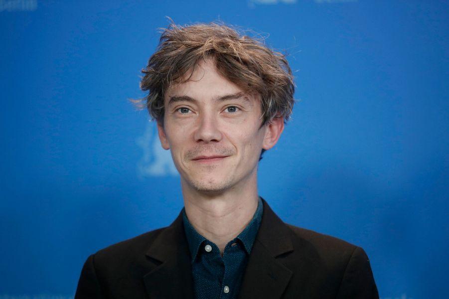 "Swann Arlaud lors de la présentation de ""Grâce à Dieu"" au Festival de Berlin."