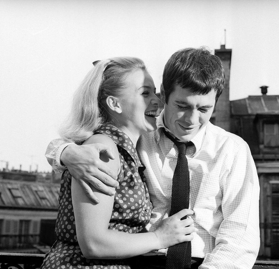 Guy Bedos et Sophie Daumier dans les années 1960.