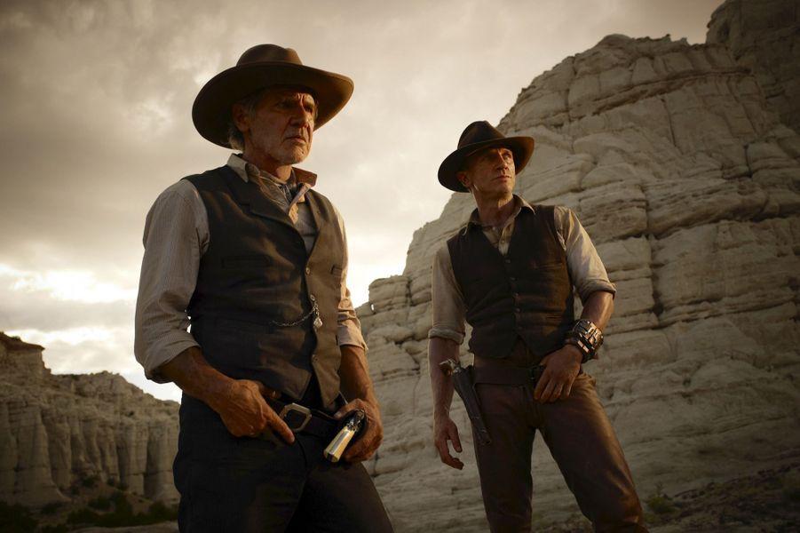 """Harrison Ford dans """"Cowboys & Aliens"""", en 2011"""