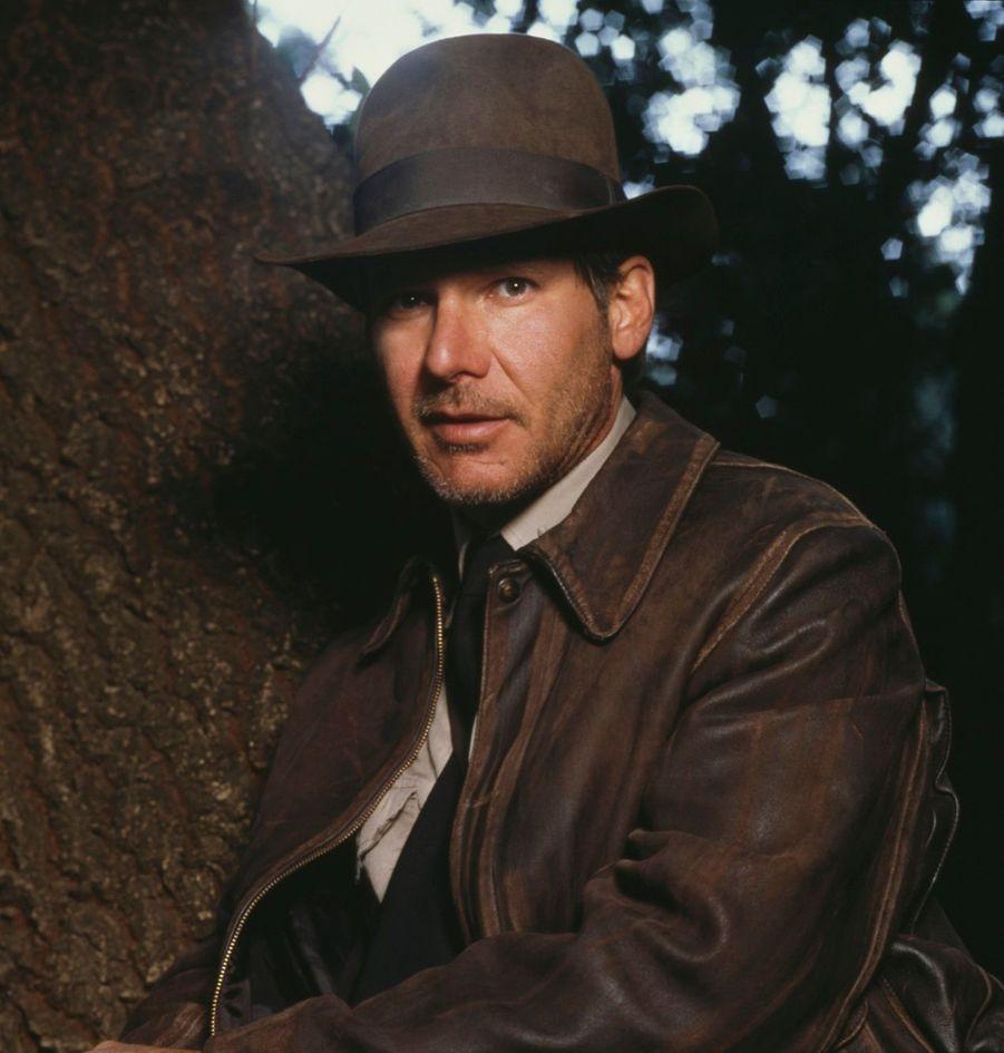 """Harrison Ford dans """"Indiana Jones et la dernière croisade"""", en 1989"""