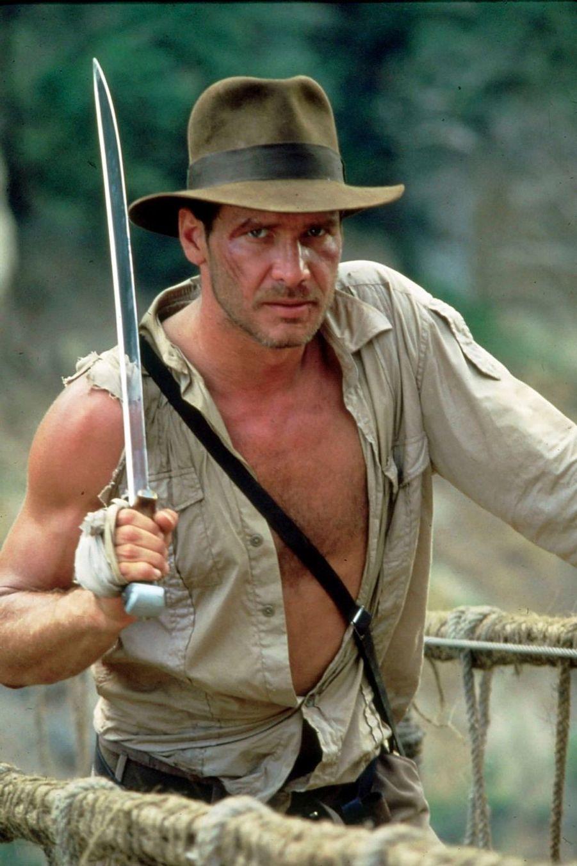 "Harrison Ford dans ""Indiana Jones"""