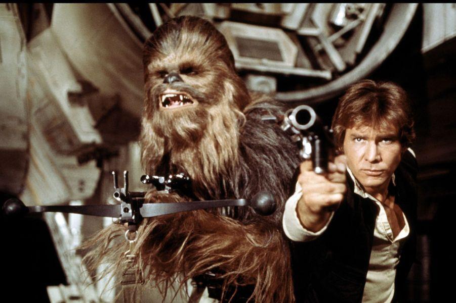 "Harrison Ford dans le premier ""Star Wars"" (1977)"