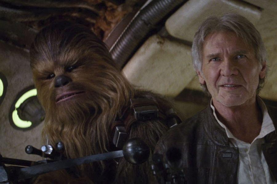 "Harrison Ford dans ""Star Wars 7, le reveil de la force"" (2015)"