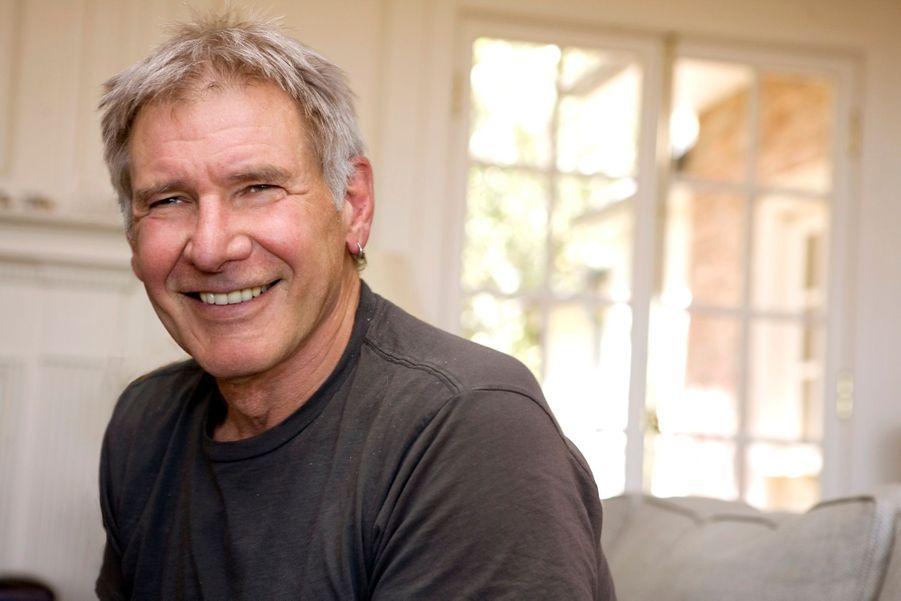 Harrison Ford pose pour Paris Match en 2009