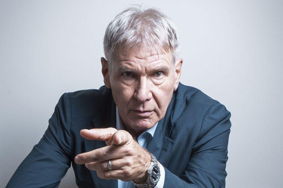 Harrison Ford pose pour Paris Match en 2013