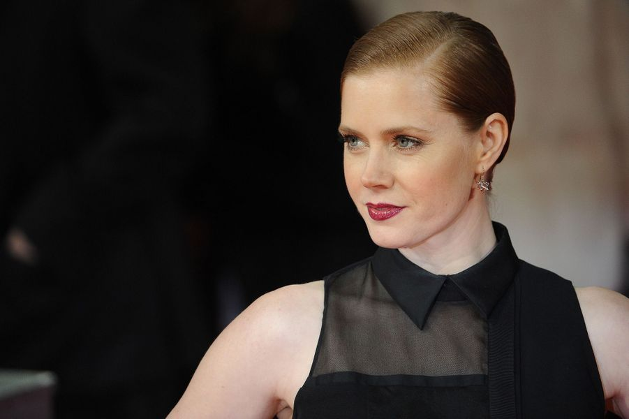 Amy Adams, à Londres février 2014