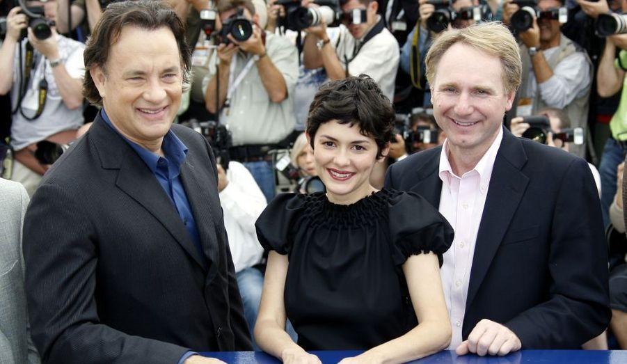 Audrey Tautou franchit l'océan pour l'adaptation du célèbre roman de Dan Brown, film d'ouverture du Festival de Cannes.