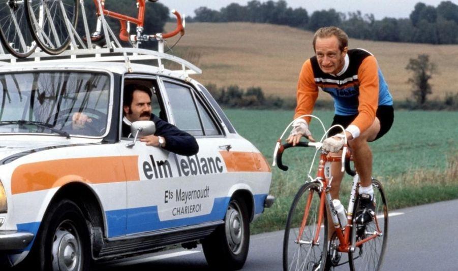 Benoît retrouve le réalisateur des «Randonneurs» Philippe Harel pour «Le vélo de Ghislain Lambert.» Il incarne le rôle éponyme d'un passionné de cyclisme, né à quelques minutes d'intervalle du champion Eddy Merckx, mais bien décidé à atteindre les sommets de son sport par tous les moyens, y compris en commençant comme distributeur d'eau dans une grande équipe.