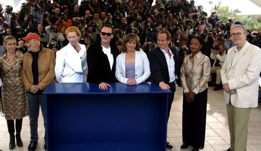 Il faisait partie du jury de 2004, présidé par le réalisateur américain Quentin Tarantino aux côtés d'Emmanuelle Béart, Tilda Swinton, ou encore Kathleen Turner.