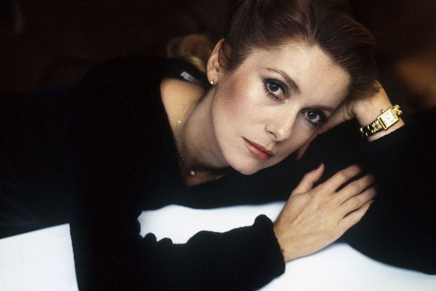 Catherine Deneuve en 1985.