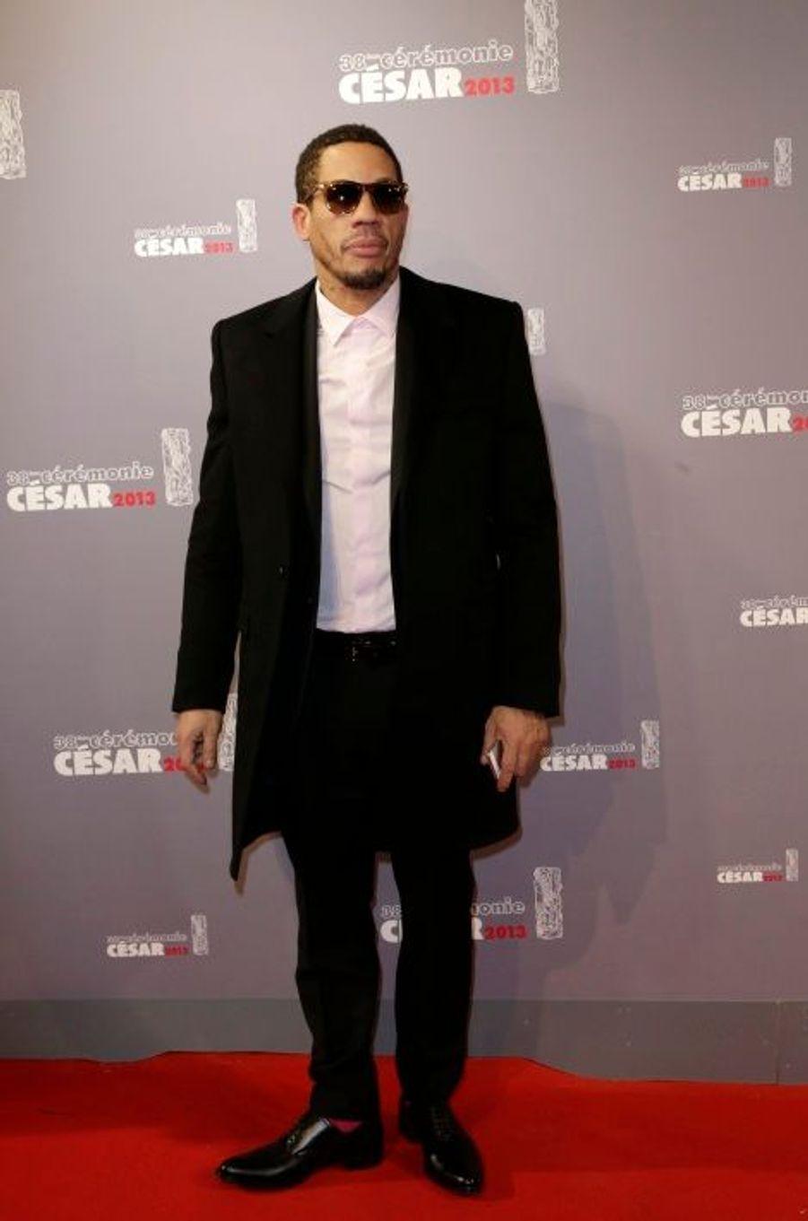 """Aux César 2013, deux fois nommé dans la catégorie meilleur acteur dans un second rôle (""""Polisse"""", """"Le bal des actrices"""")"""