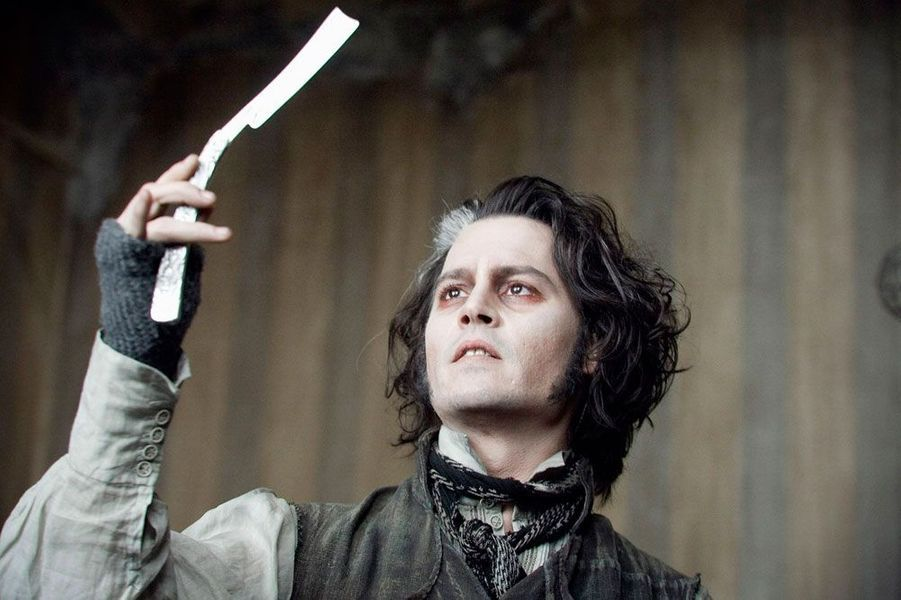 Johnny Depp joue Sweeney Todd