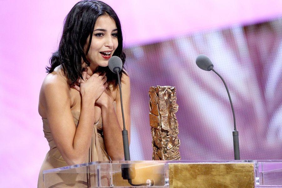 Leïla remporte le Cesar du Meilleure espoir féminin, 2010