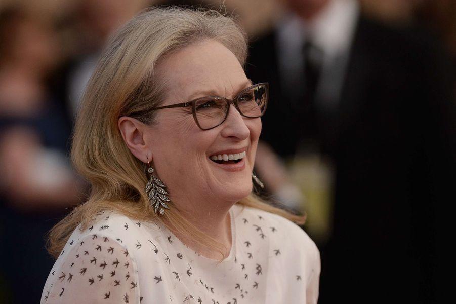 Meryl Streep en 2017.