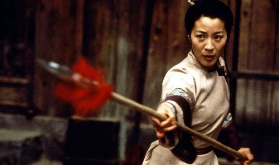 """Trois ans plus tard, elle tient l'un des rôles principaux de """"Tigre et Dragon"""" d'Ang Lee, aux côtés de Chow Yun-fat et Zhang Ziyi."""