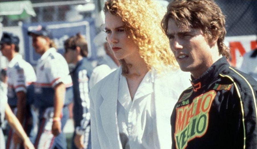 Nicole Kidman débarque à Hollywood et tombe dans les bras de Tom Cruise. Un mariage qui se terminera onze ans plus tard, en 2001, par un divorce.