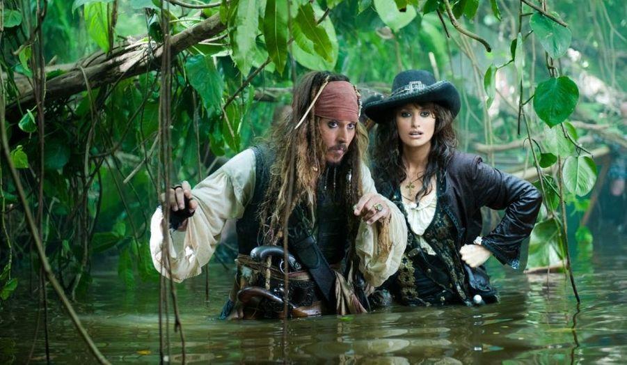 """En 2011, la belle Espagnole était à l'affiche du quatrième volet de """"Pirates des Caraïbes"""", intitulé """"La Fontaine de jouvence""""."""