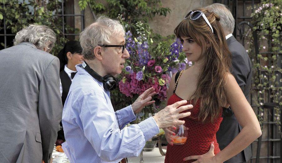 Depuis mercredi dernier, elle est à l'affiche du nouveau Woody Allen.