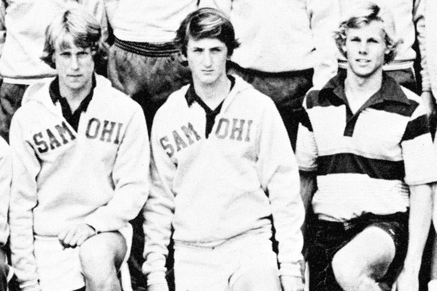 Sean Penn prend des cours de tennis, 1978