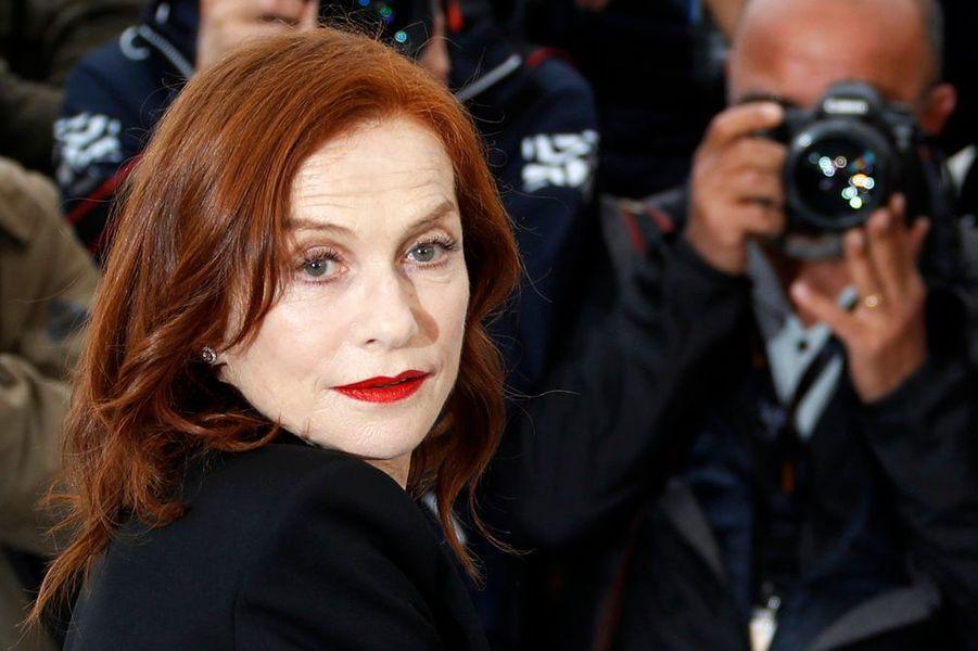 Isabelle Huppert au Festival de Cannes 2019.
