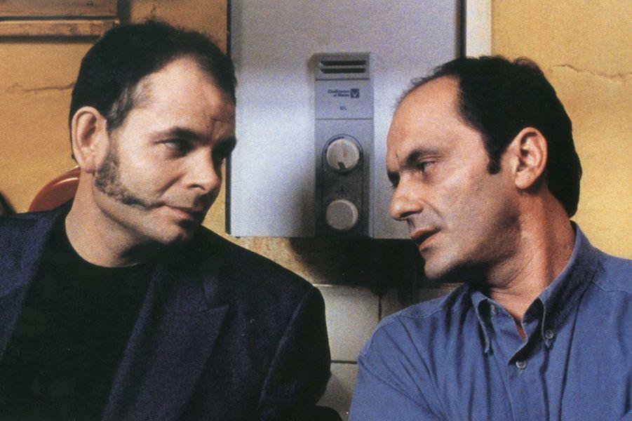 Jean-Pierre Darroussin et Jean-Pierre Bacri dans «Cuisines et dépendance» en 1992.