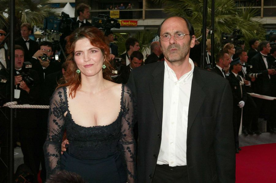 Agnès Jaoui et Jean-Pierre Bacri au Festival de Cannes en 2004.