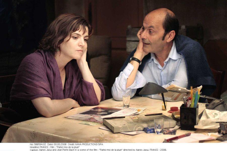 Agnès Jaoui et Jean-Pierre Bacri dans «Parlez-moi de la pluie» en 2008.